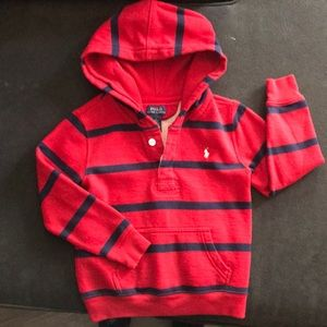 Boys size 6 pullover sweater.